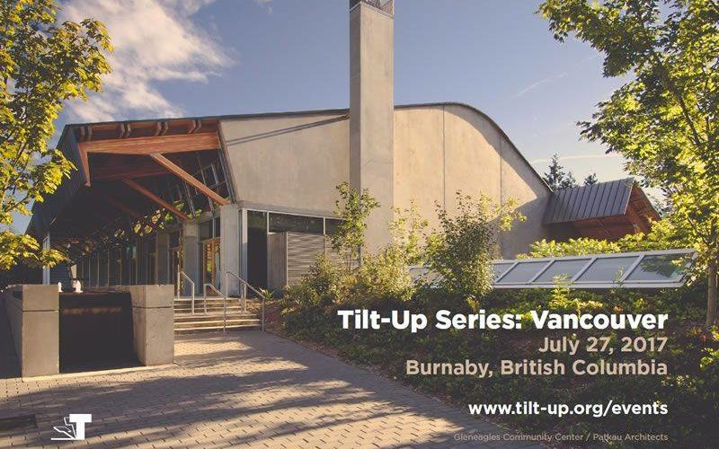 Dixon to Speak at Tilt-Up Series: Vancouver