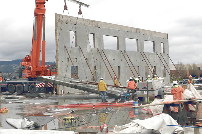 Concrete Building Systems : Thermomass concrete insulation systems for precast tilt